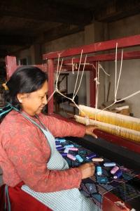 Sabah Nepal dhaka weaving